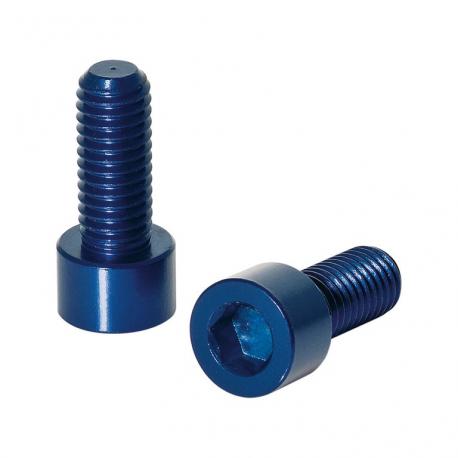 Viti XLC per portaborracce, set di 2 pezzi, azzurro