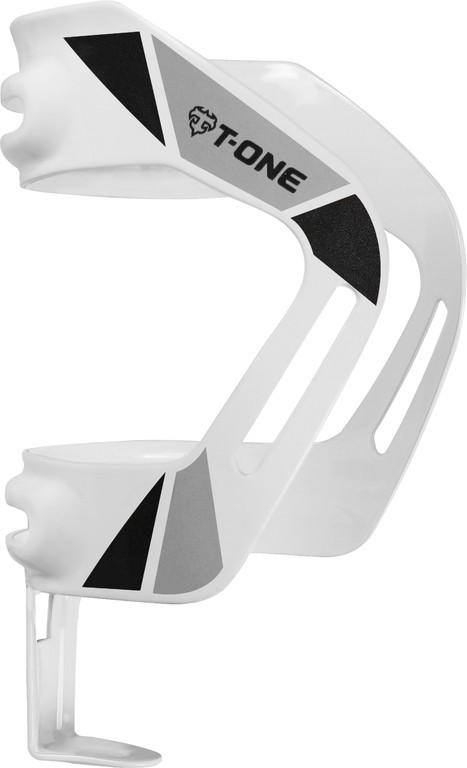 Portaborraccia T-One Anyway Alluminio, angolo regolabile, bianco riflettente