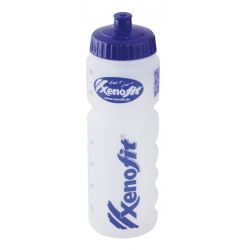 Borraccia Xenofit trasparente, 750 ml