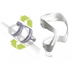 Supporto borraccia T-One Anyway Allum angolo regolabile, argento anodizzato