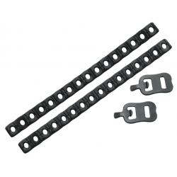 SKS Coppia adattatori in gomma per aggancio pompe al telaio