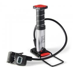 Minipompa da pavimento con manometro digitale di alta qualità, 12 bar