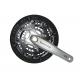 KRG Shimano T521 48/36/26 175 mm argento FC-T 521, con KSS, Octalink