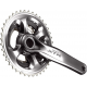 Guarnitura Shimano XTR 22//30/40 denti 175mm FC-M 9020 argento Hollowtech-II, 11-v