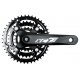 Guarnitura SR-Suntour XCT JR T202 42/32/22 denti, 152mm, nero