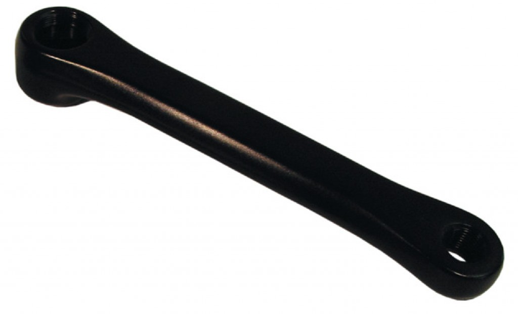 Pedivella sinistra, 170mm, alluminio nero