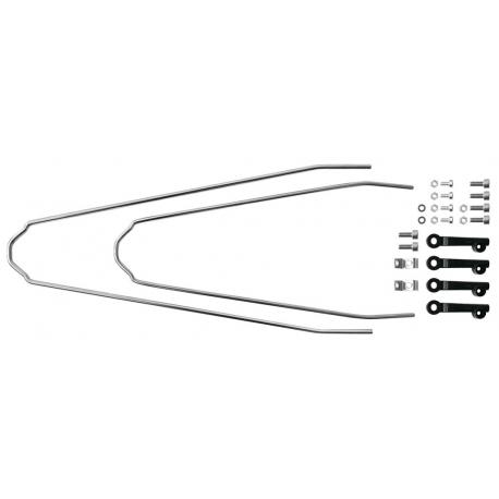 SKS Set di fissaggio parafanghi Velo per forcelle ammortizzate Suntour