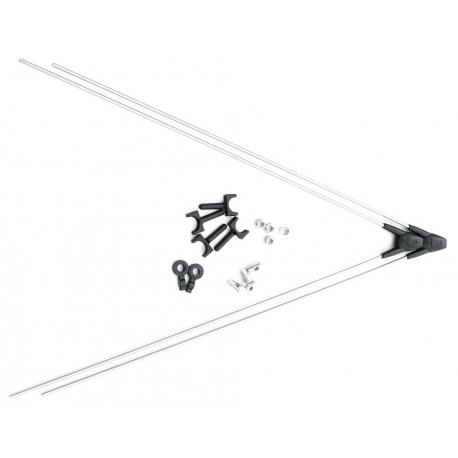 SKS Coppia aste V con ASR per parafanghi in plastica SKS 8359
