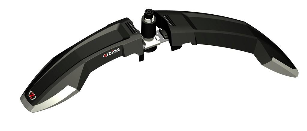 ZÉFAL Parafango anteriore Deflector FM60 nero, con alettone