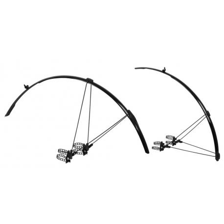 ZÈFAL Set di parafanghi Shild R30, colore nero, 30mm - per bici da corsa