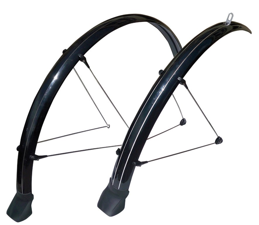 "Set parafanghi Stronglight Cross 28"", 42mm nero"