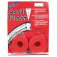 Coppi anastri antiforatura colore rosso 25-28/622, larghezza 25 mm