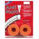 Coppia nastri antiforatura colore arancione 37/54-559, larghezza 39 mm