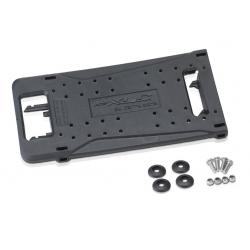 Piastra adattatore per portapacchi XLC idoneo per sistemi CarryMore