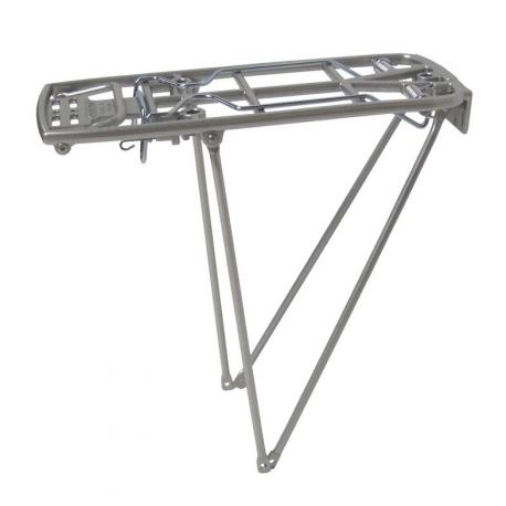 """Portapacchi Pletscher Athlete4B 26/28"""" sistema 310/345mm color argento, senza accessori"""
