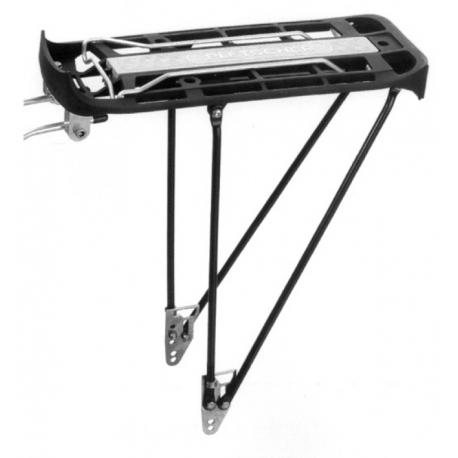 """Portapacchi Pletscher Genius 26/28"""" sistema 310/345mm, nero, senza accessori"""