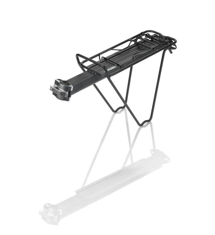 Portapacchi in alluminio fissaggio al reggisella XLC RP-R07 nero