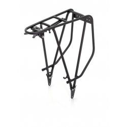 """XLC portapacchi in alluminio RP-R03 nero satinato, 28"""", SB Plus"""