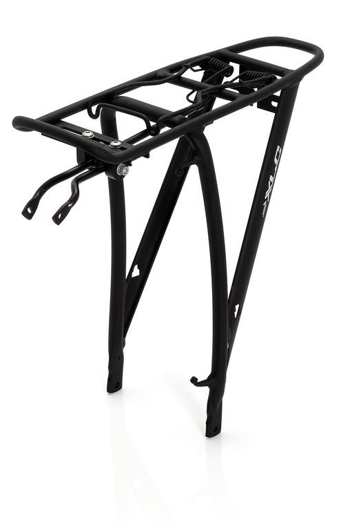 """Portapacchi XLC-alluminio RP-R05 nero, 28"""""""