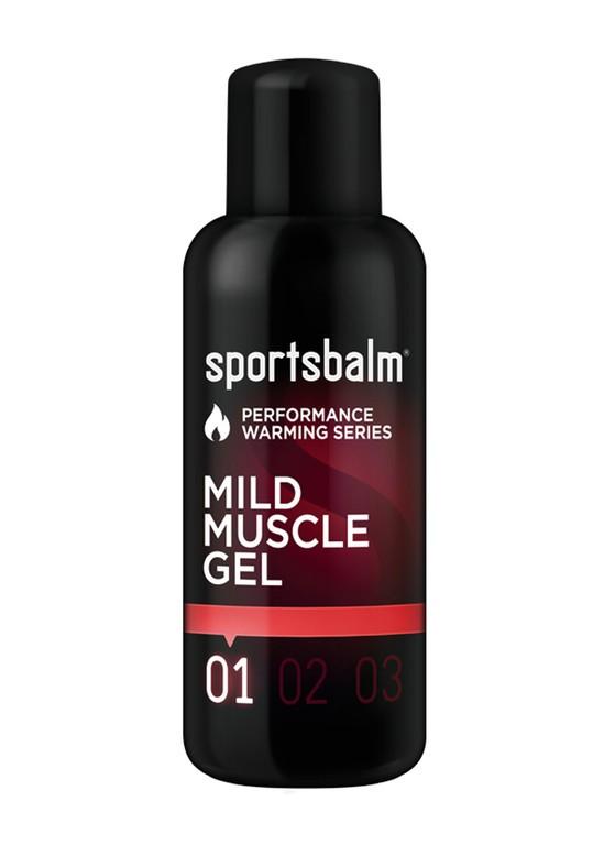 Gel caldo Sportsbalm Mild Muscle Gel 200ml, scaldamuscoli leggero