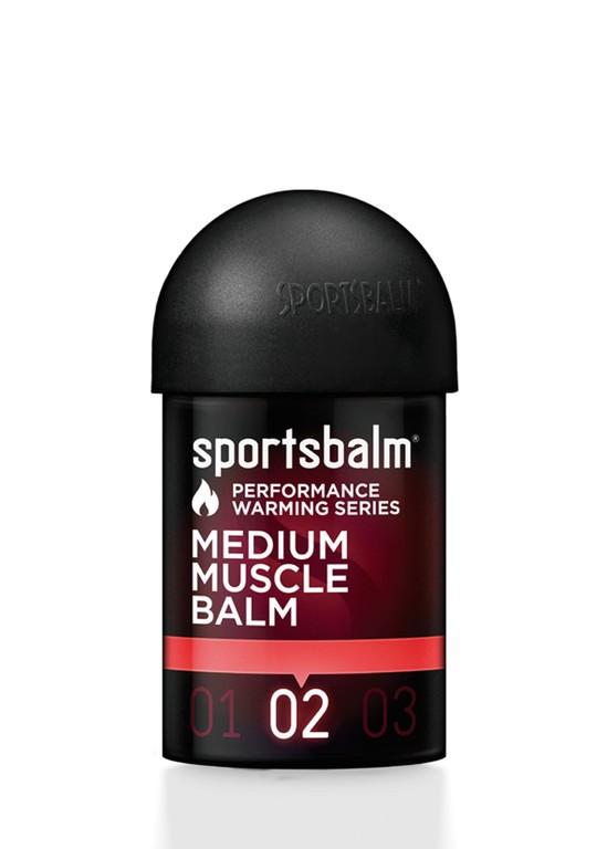Olio caldo SportsbalmMedium Muscle Balm 150ml, scaldamuscoli medio