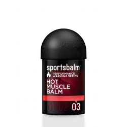 Olio caldo Sportsbalm Hot Muscle Balm 150ml, scaldamuscoli intenso