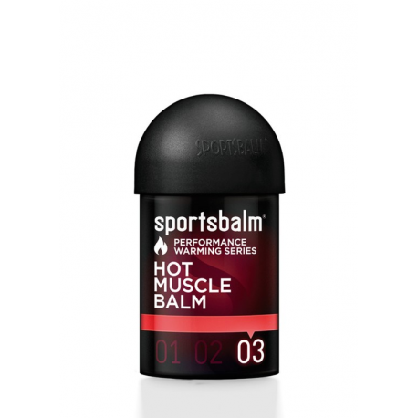 Olio caldo Sportsbalm Hot Muscle Balm 150ml, scaldamuscoli intenso