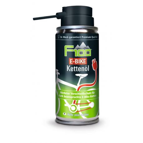 Olio per catene F100 E-Bike 100ml, bomboletta spray