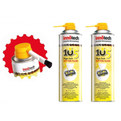 Fluido catena High Tech 105/107 Innotech Set fluido/Xtreme da 2 pz. c. 1 pennello