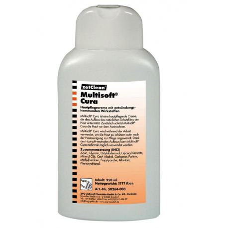 Crema protettiva pelle Multisoft Cura 250ml bottiglietta