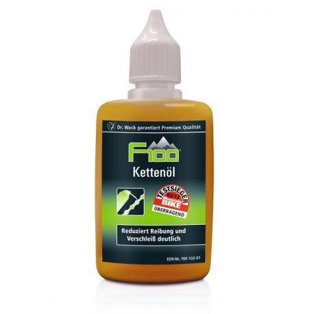 Olio per catene F100 50ml, dosatore goccia