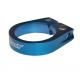 Fasc. blocc.sella X-TAS-Y blu alloy 31,8 mm, con vite a brugola