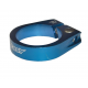 Fasc. blocc. sella X-TAS-Y blu alloy 34,9 mm, con vite a brugola