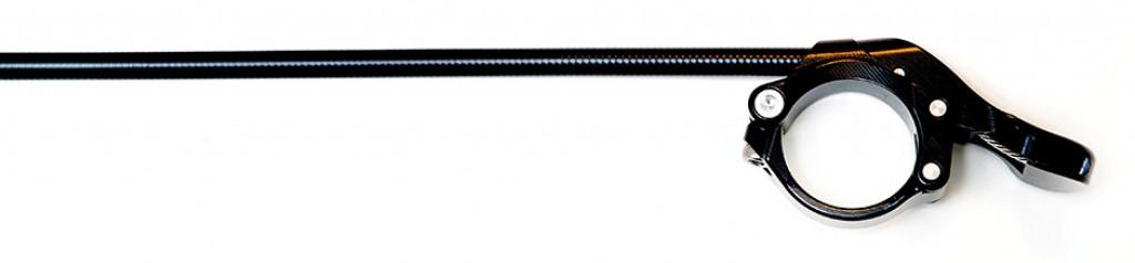 Leva di sgancio Thomson Per Dropper, montaggio al manubrio