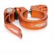 Collarino XLC PC-L04 Ø 31,8 mm arancio con sgancio rapido