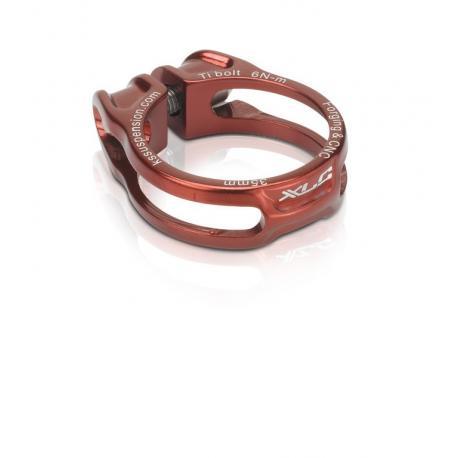 XLC morsetto reggisella PC-B06 Ø 31,6mm, rosso, con vite a brugola