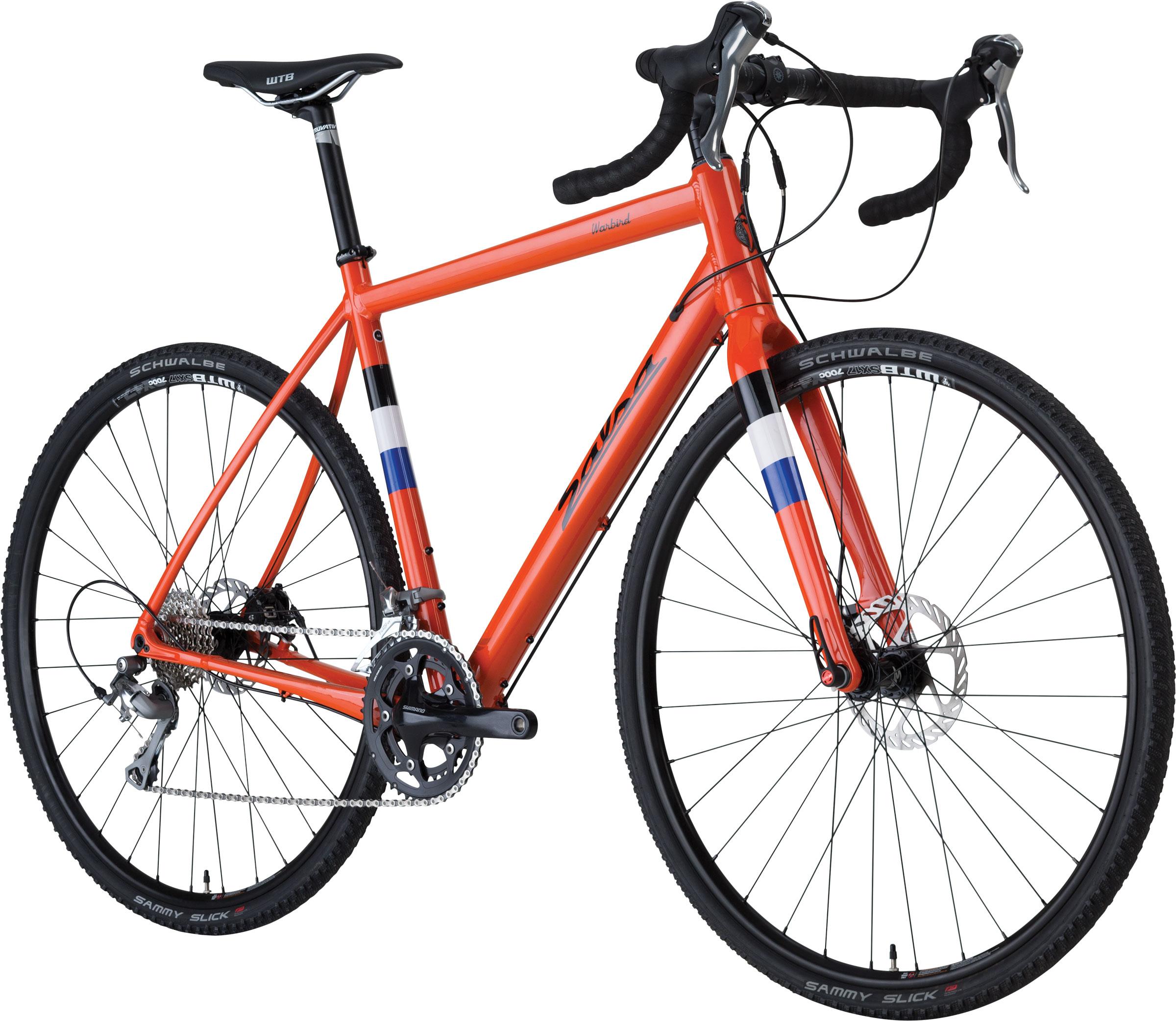 Salsa Warbird 3 bici completa Blaze Orange
