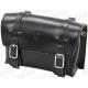 BRAVE CLASSIC Borsa Sottosella in pelle di bufalo, 20 x 10 x 8 cm, nera