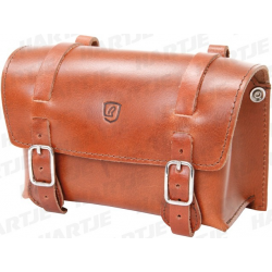 BRAVE CLASSIC Borsa Sottosella in pelle di bufalo, 20 x 14 x 8 cm, marrone