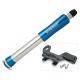 Minipompa Airbone ZT-509 AV/DV/SV, 210mm, blu, compr. supporto