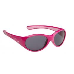 Occhiali da sole Alpina Flexxy Girl montatura rosa fucsia/rosa lenti nere S3