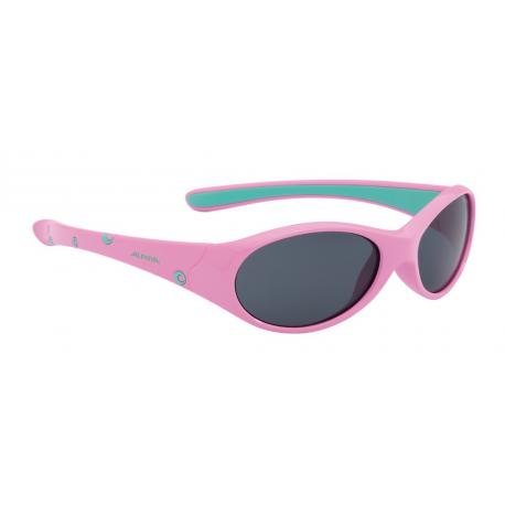Occhiali da sole Alpina Flexxy Girl Montatura rosa/menta, lente nera S3