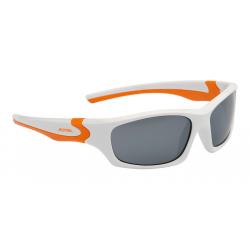 Occhiale da sole Alpina Flexxy Teen Mont bco/arancio lente nero specchioS3
