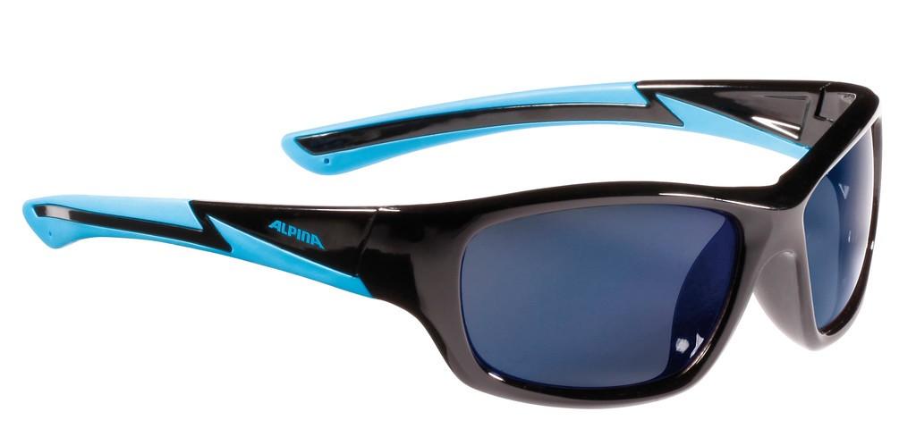 Occhiale da sole alpina flexxy youth mont nero ciano lente - Scrivere a specchio ...