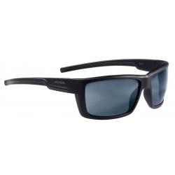 Occhiale da sole Alpina Slay nero op lente nero a specchio S3