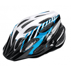 Casco da bici Alpina FB Junior 2.0 Flash nero/blu/bianco Tg.50-55cm