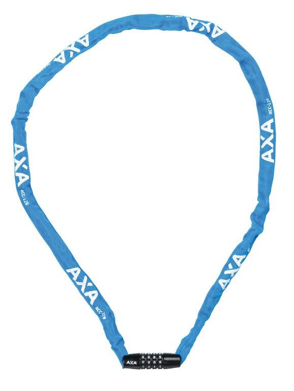 Lucchetto catena Axa Rigid RCC 120 Lunghezza 120cm,3,5x3,5 blu