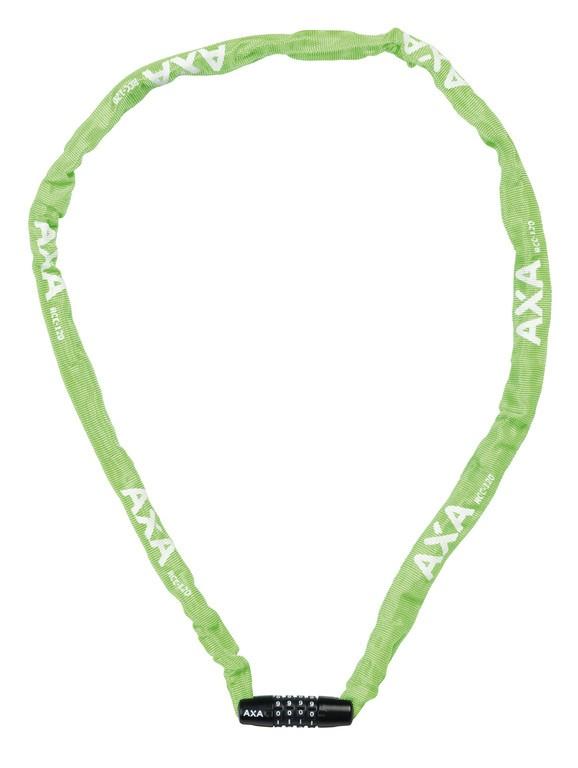 Lucchetto catena Axa Rigid RCC 120 Lunghezza 120cm,3,5x3,5 verde