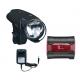 fanale batt LED Set b&m IXON IQ Premium incl.batteria e caricabatt.+lxback senso