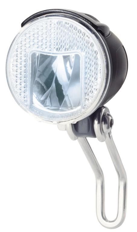 Faretto diodi b&m Lumotec IQ Cyo R senso per mozzo din accens aut. luce pos. nero